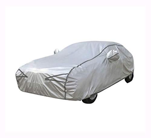 Autoabdeckung Kompatibel mit FORD Fiesta Ranger F-150 E-350 C-MAX Spezielle Autoabdeckung Sonnenschutz Regen- und Schneeverdickung Four Seasons Universal ( Color : Silver , Size : Fiesta )