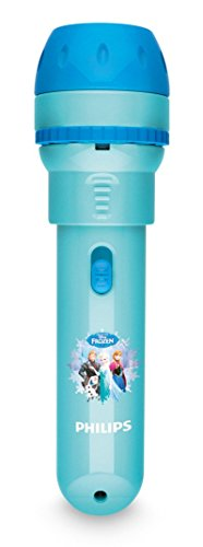 Philips Disney Frozen - Proyector y linterna 2 en 1, bombilla LED de 0,1 W, color azul