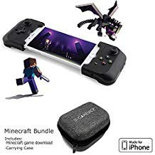 Price comparison product image Gamevice Controller - Gamepad Game Controller for iPhone X / XS / XS Max / 8 / 7 / 6 & Plus [Minecraft Bundle] [Apple MFi Certified] [DJI Spark,  Tello