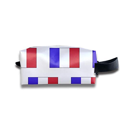 Francese Flag_147 Borse da viaggio multifunzione da viaggio per trucco cosmetico organizzatore di borse da viaggio per unisex