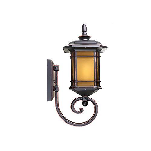 hexuan, outdoor wall lamp wasserdicht hof villa wand lampe outdoor indoor - wand - lampe,tuba