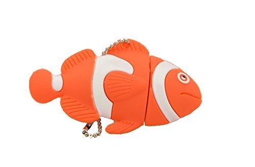 Febniscte 16gb pesce stile 2.0 flash drive chiave usb