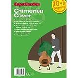 SupaGarden Housse de protection pour cheminée de terrasse ultra résistante 122 x 61 cm