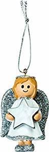 Personalisierte Cute Silber Girl Angel Weihnachtsbaum Ornament Kugel mit Laser Gravur Namen von 105899700–ChiChi Gifts