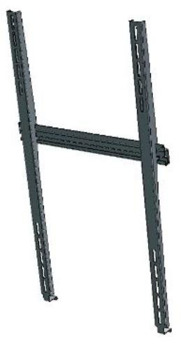 NEC 100012665 - WS32-52P Wall Mount - Slim Portait Wall Mount WS32-52P (Rack Record Storage)