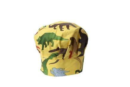 Dinosaurio - Mini gorro de chef
