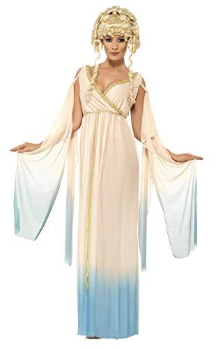 Smiffys Damen Griechische Prinzessin, Kleid und Kopfschmuck, Größe: M, 25801