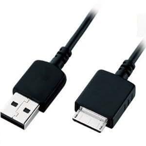 TECHGEAR® Câble USB Chargeur (WMC-NW20MU compatible) pour Sony Walkman MP3 Lecteur NWZ-A816, NWZ-A818, NWZ-A828, NW-A916, NW-A918, NW-A919, NWZ-610F etc