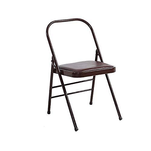Möbelsets-LX Klappstuhl, Yoga Hilfsstuhl Yoga rückenfreier Gelehrter Standardstuhl Praxis Körperaktivität Requisiten
