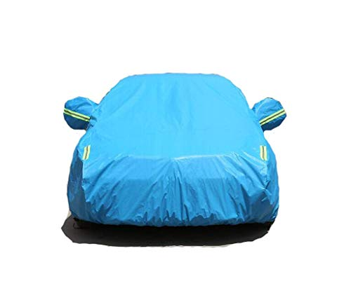 MeiXia Cover Bentley Mulsanne Continental Auto Kleidung Abdeckung Thick Regenschutz Sonnenschutz Isolierung Neue spezielle Auto-Jacke Sonnenschutz Staub (Color : Blue, Size : Mulsanne)