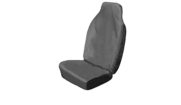 Mr E Saver FIAT DUCATO 35 MAXI 3.0 EXTRA HIGH ROOF VAN XLWB Single Heavy Duty Driver Captain Seat Cover Waterproof BLACK