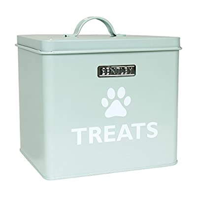 Charles Bentley English Heritage Traditional Vintage Pet Treats Tin Storage / Food Container Dog Cat Rabbit Guinea Pig Food Tin