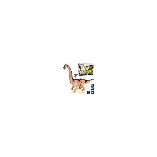 JUINSA- Dinosaurio Movimiento con luz y Sonido, 45 cm (81269)