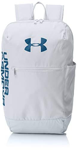 Under Armour UA Patterson Backpack, Zaino Unisex Adulto, Grigio MOD Gray/Petrol Blue 011, Taglia Unica