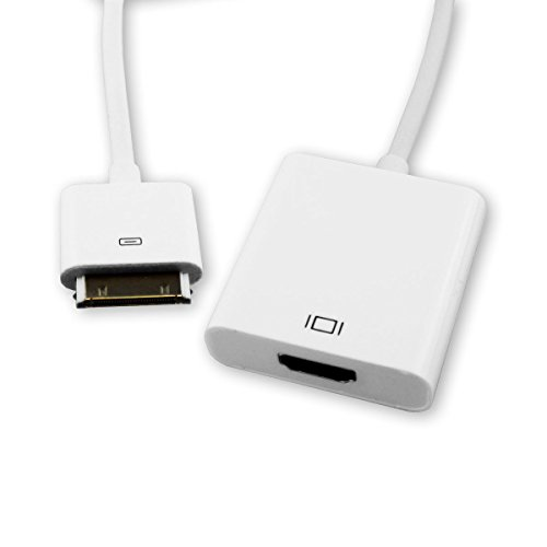 bel Adapter Apple iPad 1 2 3 iPhone 3GS 4 4S iPod TV HDTV (Iphone 4s-tv-adapter-kabel)