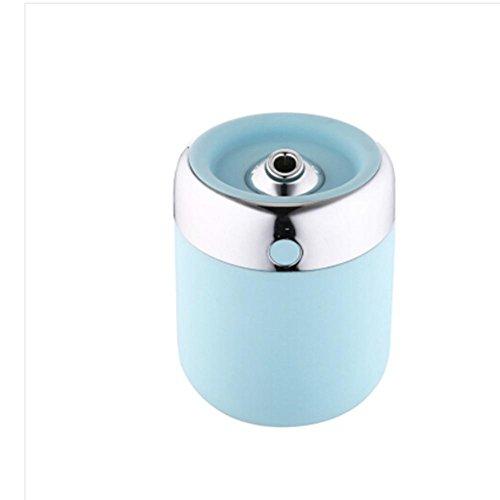 CFZHANG Kleine Fischbefeuchter USB Aromatherapie Mini Air Haus Auto Luftreiniger , days blue