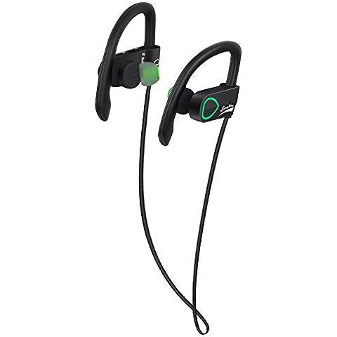 sungwon allenamento Wireless Bluetooth cuffie cuffie sweatproof IP67impermeabile Sport Auricolari cuffia con microfono