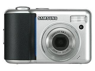 Samsung Digimax S800 Digitalkamera (8 Megapixel) Black Samsung Digimax