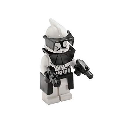 LEGO Star Wars Minifigur - Clone Wars - Clone Commander mit Pistolen - Legos 2010 Star Wars