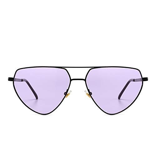 Fashion Sonnenbrille Europa und Amerika Herren Damen Sonnenbrille Netz rot Catwalk Sonnenbrille Orange wie abgebildet