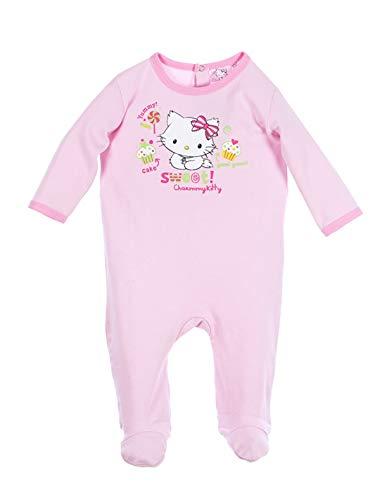 f70fd5536813d Minnie Pyjama Coton bébé Fille Charmmy Kitty Rose et Bleu de 3 à 23mois -  Bleu