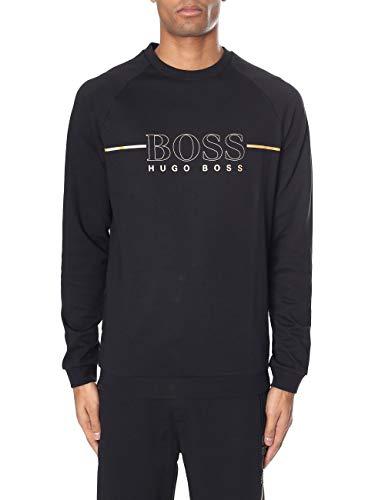 77c500e05 BOSS Tracksuit Sweatshirt, Sweat-Shirts Homme, Noir (Black 001), Large
