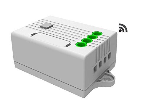 Empfänger & elektronischer Regler für codalux Funkschalter / Lichtschalter / Funktaster, 1-Kanal Empfänger 5A 433 MHz - Elektronische Empfänger