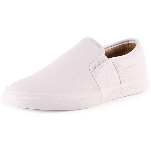 Lacoste  GAZON 8, pantoufles hommes Off White
