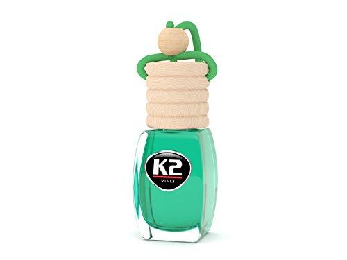 Preisvergleich Produktbild K2 VENTO Solo 8ml Duftnote Green Apple Duftflakon Autoparfüm Duftbaum Innenraum Parfüm