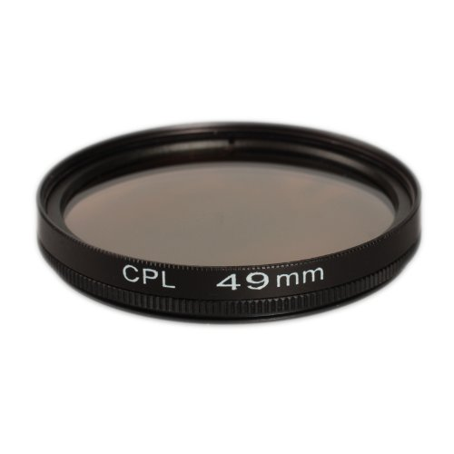 Filtre polarisant universel CPL 49 mm Ares Foto - Pour Canon EF 50mm f/1.8STM