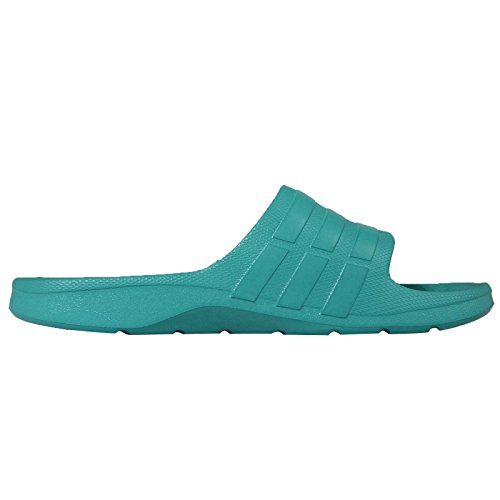 adidas Herren Duramo Slide Open Toe Sandalen SHOGRN/SHOGRN/SHOGRN
