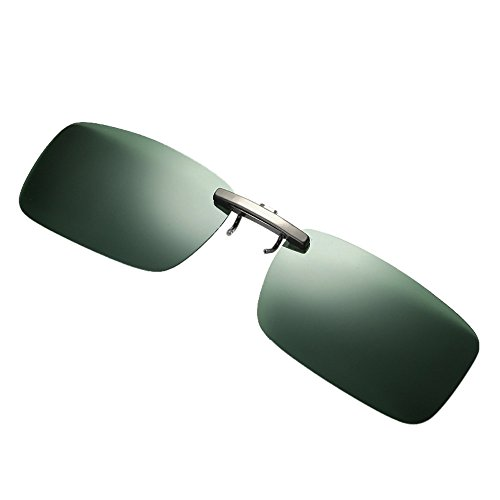 Longra Sonnenbrillen polarisierte Sonnenbrille für Brillenträger Überzieh-Sonnenbrille mit Brillen-Etui für Herren und Damen Sonnenbrillen-Clip Sunglasses Anti-Glare UV400 for Men Women