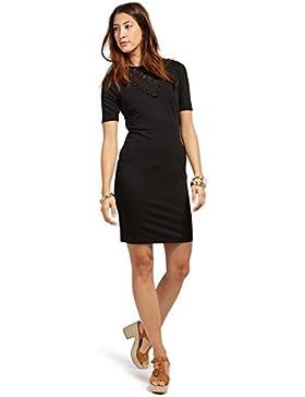 Tom Tailor Contemporary für Frauen Dress Kleid mit Einsatz aus Spitze