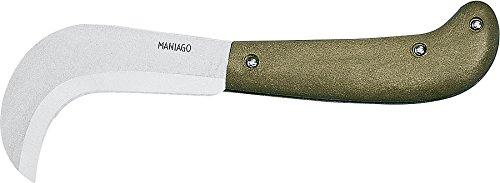 Aufgrund CIGNI 356/20Beschneiden Messer und billhooks im Blister, Grün, 9cm
