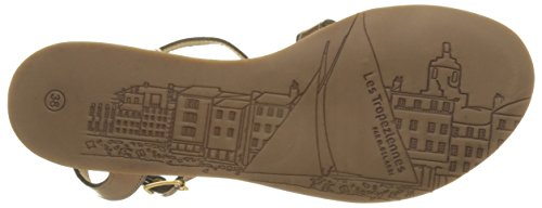 Les Tropéziennes, Hams, Scarpe con cinturino da Donna Marrone (Bronze)