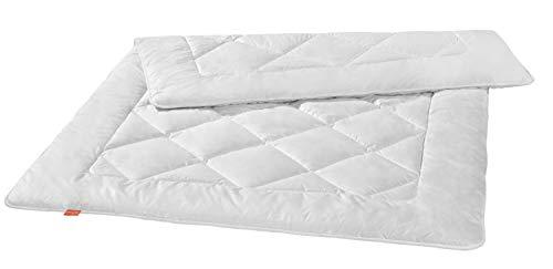 liebling Premium Kamelhaardecke aus 100% Kamelhaar, Wärmeklasse: warme Winterdecke, 135 x 200 cm, weiß