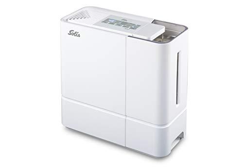 Solis Luftbefeuchter mit natürlichem Verdunstungsprinzip, Zuschaltbare Ionen-Funktion, Aktivierbare automatische Steuerung, 5 Liter, Perfect Air (Typ 7219)