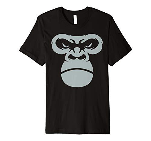 Giant Gorilla face-Shirt Primas Ape Halloween-Kostüm Geschenk