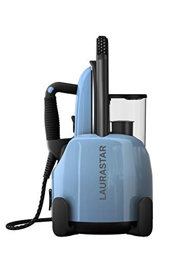 Laurastar Vapeur Lift Plus Blue Sky, Centrale 3 en 1, Défroisse, Repasse et purifie Vos vêtements, 2200 W, 1.1 liters