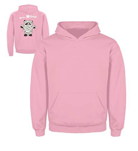 l süßes Halloween Panda Wortspiel - Grusel Geschenk für Panda Fans - Kinder Hoodie -3/4 (98/104)-Baby Pink ()