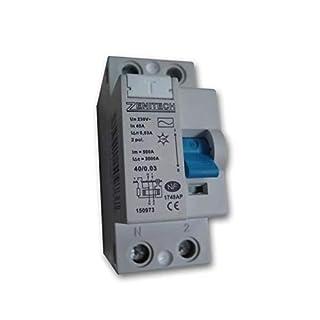 Zenitech - Interrupteur différentiel 40/2 30mA Type AC NF