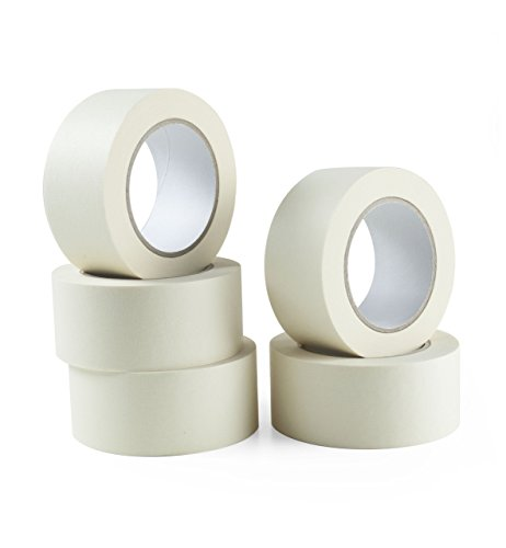 pack-of-5-masking-tape-48mm-wide-50-metre-rolls-high-quality-tape-perfect-for-professional-diy-use-d