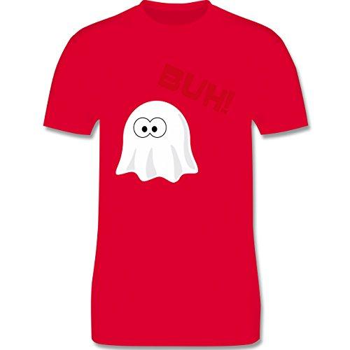 Halloween - Kleiner Geist Buh süß - Herren Premium T-Shirt Rot