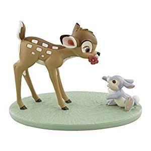 Disney, figura de Bambi y palas, momentos mágicos. Pensiero ideal par