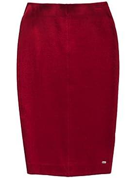 Superdry Damen Rock Natasha Ponte Pencil Skirt