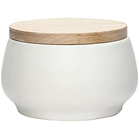 Hubsch in barattolo ermetico in ceramica con coperchio, misura S
