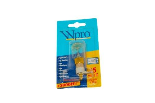 Whirlpool Mikrowelle Lampe und Boden. Original Teilenummer 481281728446 (Glühlampe Appliance Lampe)