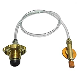 Asia/German/North American Standard Home Gas Stove Gas Tank to Flat Cylinder Tank Refill Adapter Valve Accessories Rone Life