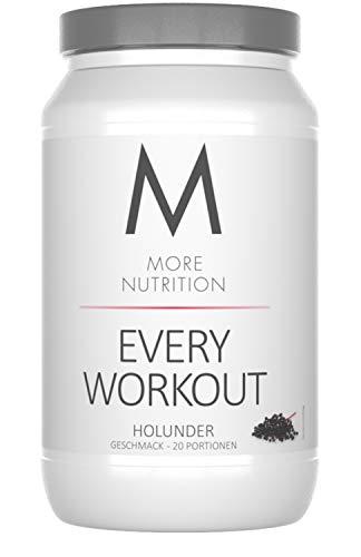 Holunder-geschmack (More Nutrition Every Workout Booster. Wach & Fokussiert Bei Jedem Training. Für Bodybuilding Und Kraftsport 1 x 700g (Holunder))