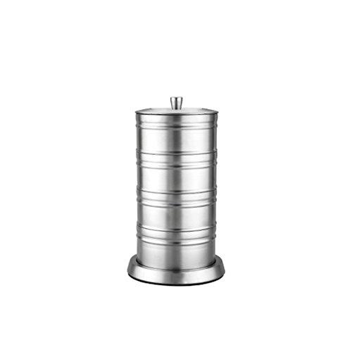 Aroma-super-topf (ZHAOJING 304 Edelstahl mehrschichtige Aroma Töpfe Kreative Haushalts Super - Gewürzflaschen Küche liefert Gewürz Box Salz Dosen)